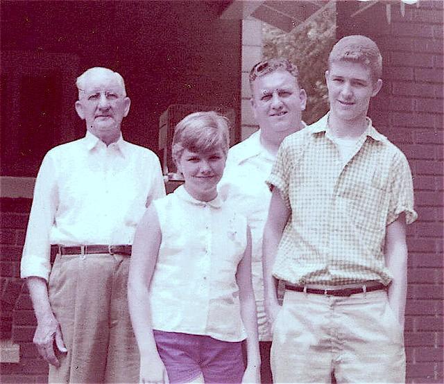 Grandfather Beard,  Dad,  Dick,  Rebecca