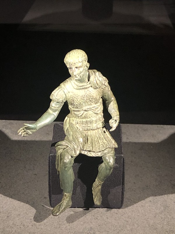 Statuette of Nero in full armour