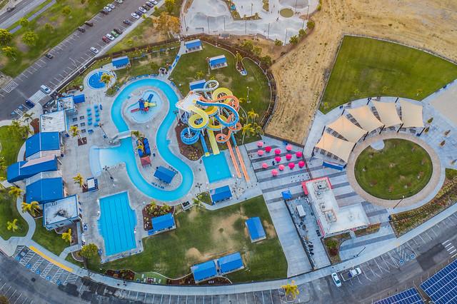aqua adventure water park aerial