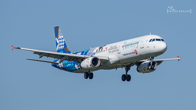 TC-JRG TURKISH AIRLINES Discover the potential AIRBUS A321-231 CN 3283