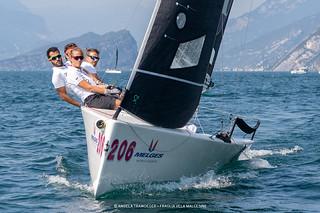 Melges World League Garda Lake Rally • Fraglia Vela Malcesine • Angela Trawoeger_K3I3582