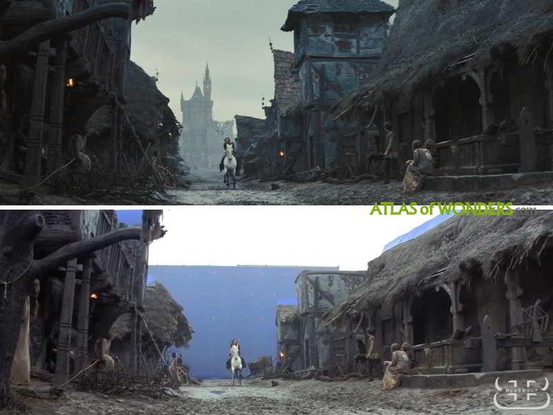 The Snow White town