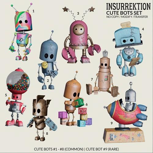 InsurreKtion - Cute Bots Set Gacha