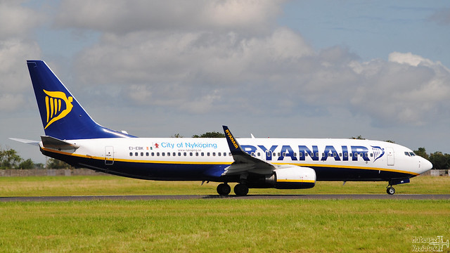 Ryanair 🇮🇪 Boeing 737-800 EI-EBK
