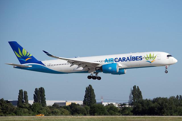 Air Caraïbes F-HNET Airbus A350-941 cn/091 @ LFPO / ORY 18-07-2021