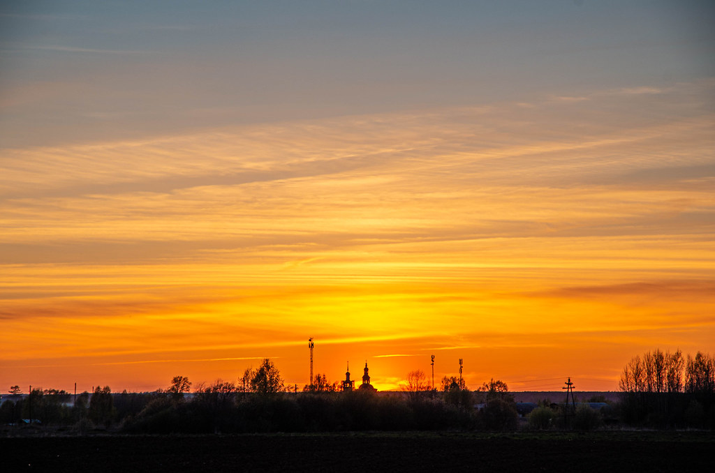 Village sunsets