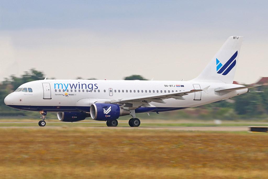 [LYS] 9A-BTJ A319-100 MyWings