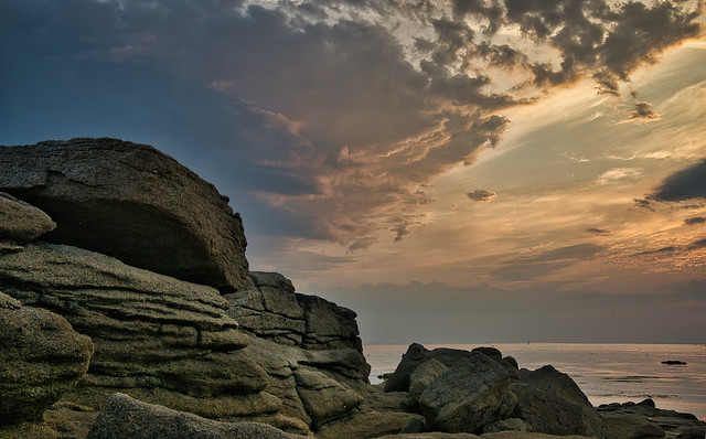 La pierre l'eau et le ciel!