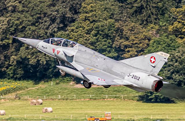LSMP: SwissAirForce Historic / Dassault Mirage III DS / (J-2012) HB-RDF