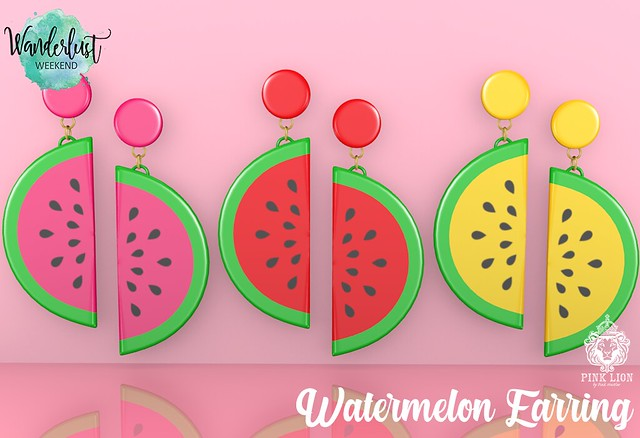 🍉 Watermelon Earrings 🍉