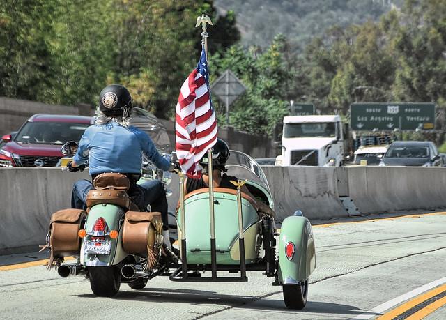 Patriotic Sidecar