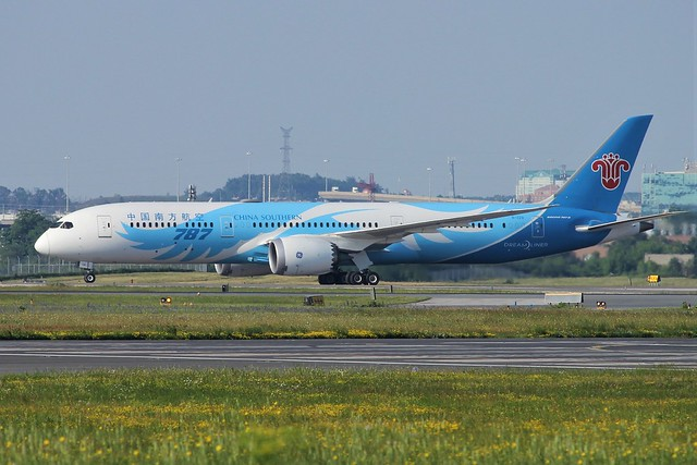 China Southern Airlines B-1128