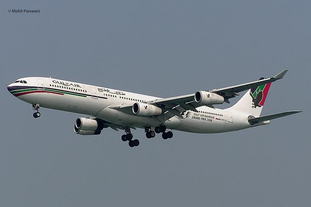 Gulf Air (GF-GFA) / A340-312 / A4O-LC / 01-31-2006 / HKG