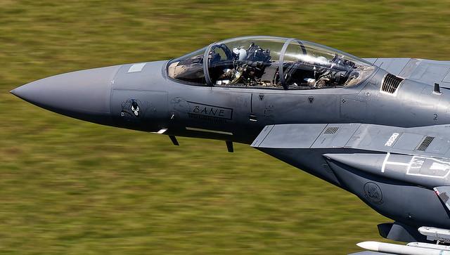 F-15 E THROUGH MACH LOOP BANE NOSE ART