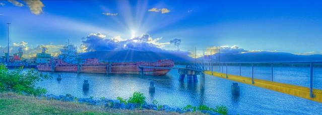 Dreamy Sunrise at the Wharf 1 - April 2, 2015