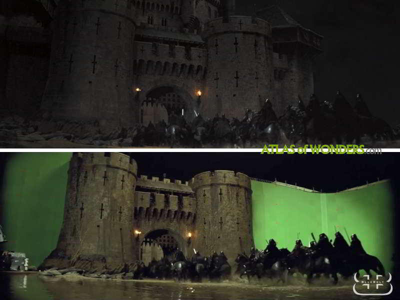Snow White and the Huntsman Castle