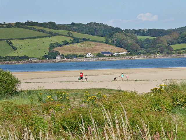 Llansteffan West Wales