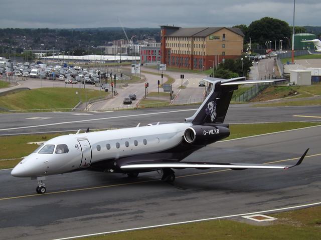 G-WLKR Embraer Legacy 500 (Air Charter Scotland Ltd)