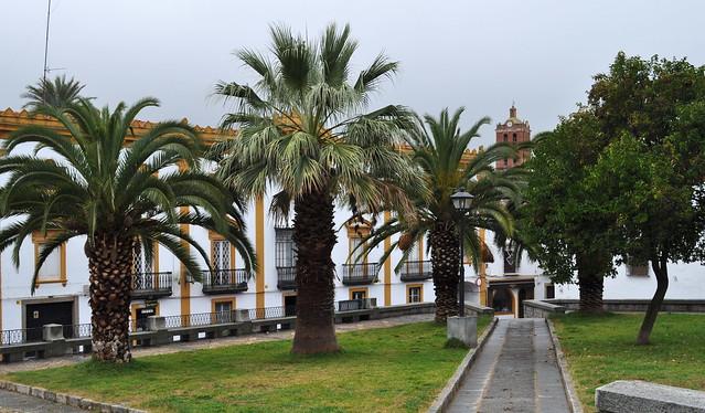Plaza Corazón de María, Zafra, province de Badajoz, Estrémadure, Espagne.