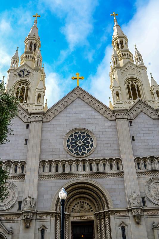 Little Italy church San Francisco