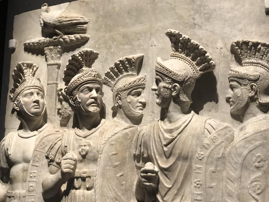 Detail of Relief of Praetorian Guard