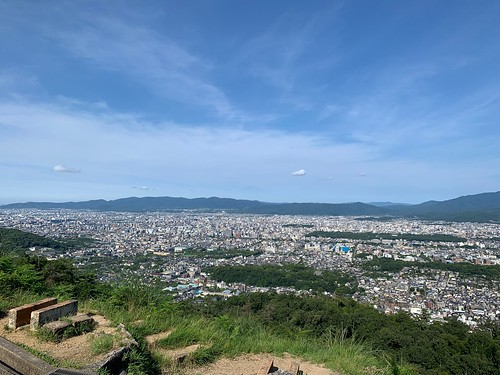 京都一周トレイル 大文字山 火床