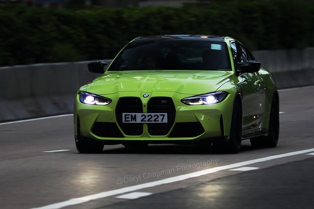 BMW, M4 Competition, Wan Chai, Hong Kong