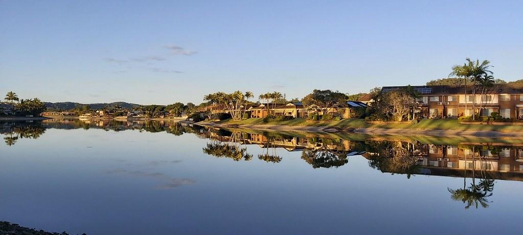 Pine Lake reflections