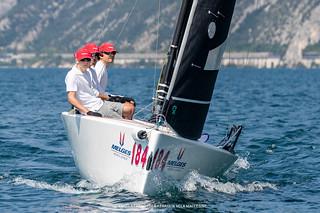 Melges World League Garda Lake Rally • Fraglia Vela Malcesine • Angela Trawoeger_K3I3345