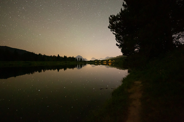 Night Comes to Oxbow Bend