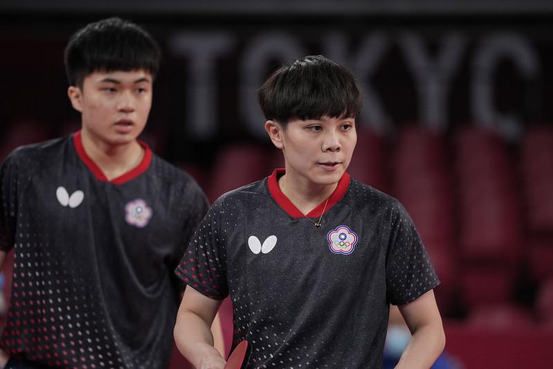 林昀儒(左)與鄭怡靜(右)。(達志影像資料照)