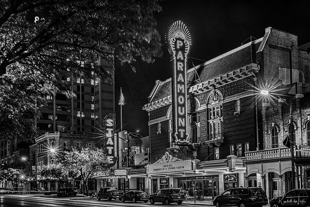 Paramount And State Theaters, Austin, Texas