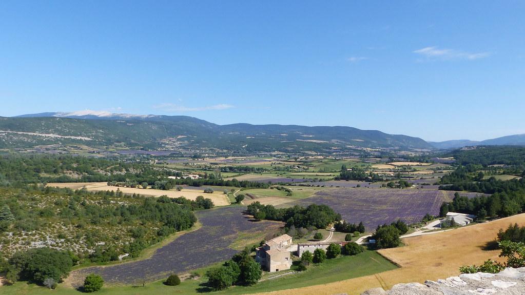 Sault, Aurel y Chemin de Lavandes, Provence, 19 Julio 2021