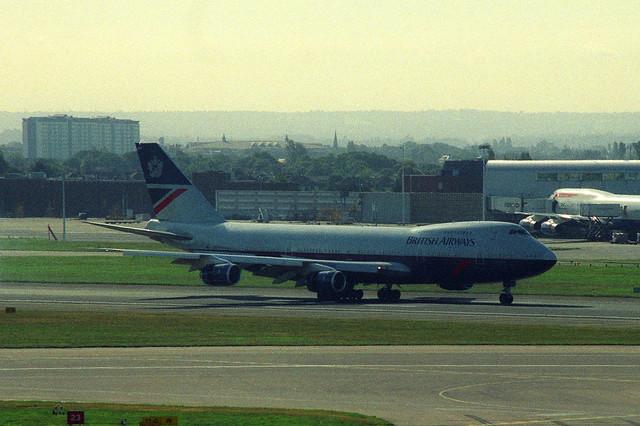 G-BDXF, London Heathrow, August 21st 2001