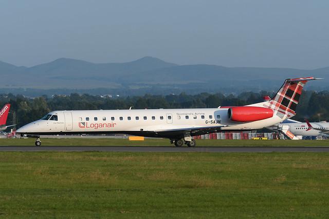 G-SAJN Embraer 145EP EGPH 20-07-21