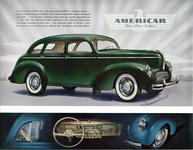 1941 Willys Americar Four-Door Sedan