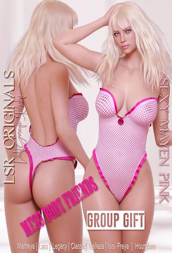 Sexy Mayen Pink MBF Group Gift