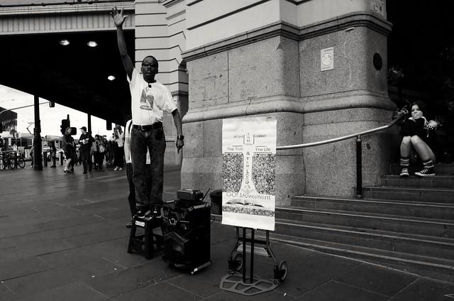 Street Preacher.