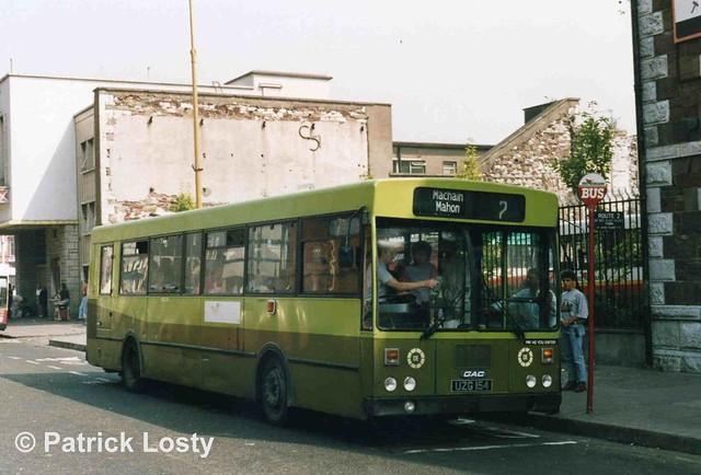 Bus Éireann KC154 (UZG154).