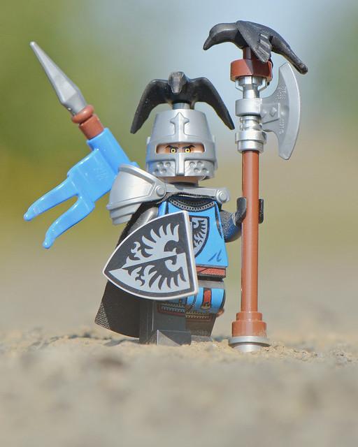 LEGO Black Falcon Knight