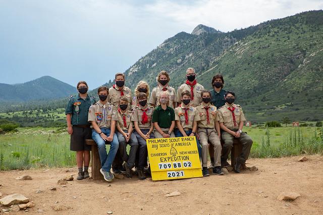 2021-07-09 Boys Crew 709-BB-02, 12-28 Philmont Adventure