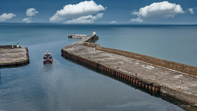Boat Trips at Burghead