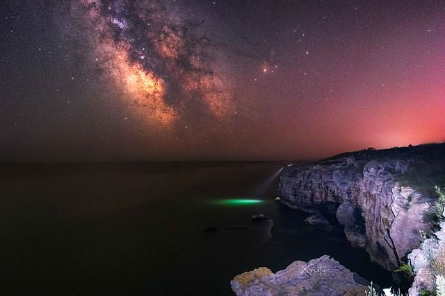 Tyulenovo Milky Way