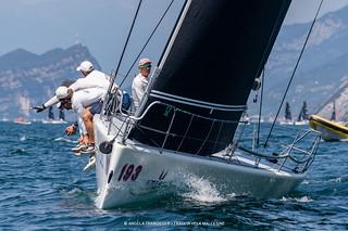 Melges World League Garda Lake Rally • Fraglia Vela Malcesine • Angela Trawoeger_K3I3005