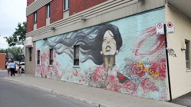 Street art by Melsa Montagne