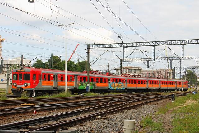 PR EN71-022 , Wrocław Główny train station 21.07.2021