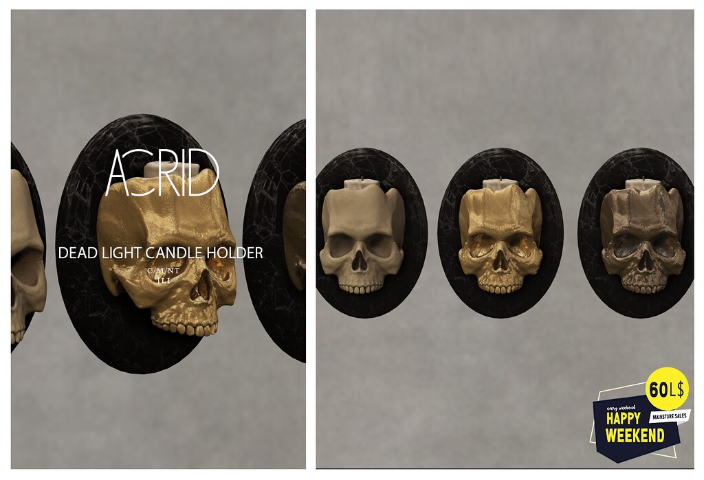 Acrid – Happy Weekend Sale