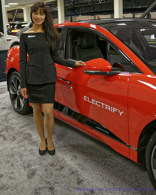 Julianne and the Jaguar iPace