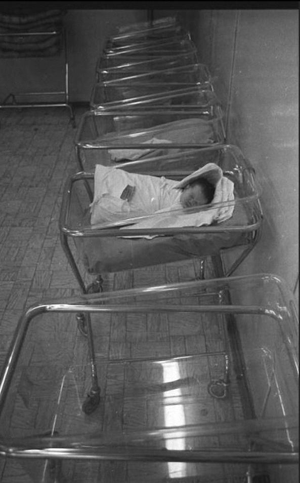 1993. Родильное отделение Первой градской