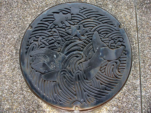 Taiji Wakayama, manhole cover (和歌山県太地町のマンホール2)